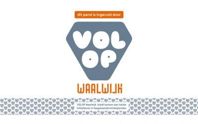 De poster van VOLOP Waalwijk is binnen