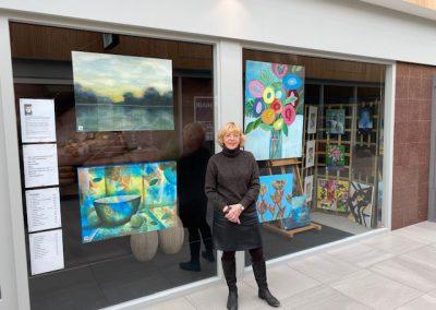 Waalwijkse kunstenares Jeanny van der Sanden